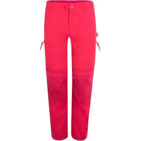 TROLLKIDS Nordfjord Pantalones Zip Off Niños, rojo